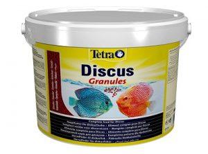 Comida para pez disco